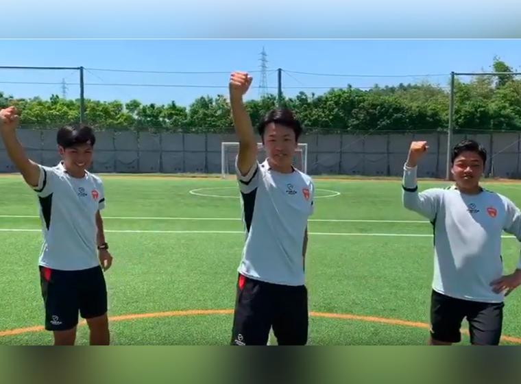 みんなでやろう!レノファ健康・元気体操(レノファ山口スクールコーチver.)